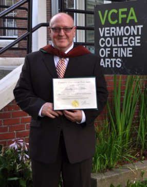 Graduation from Vermont College of Fine Arts with an MFA degree in Music Composition - August 2013