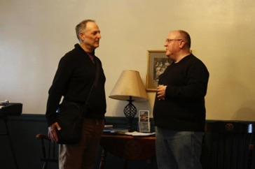 With film composer Don DiNicola at Vermont College of Fine Arts February 2012