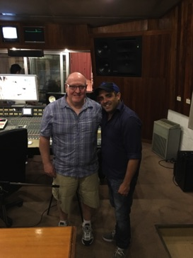 With recording session producer Dayron Ortega at Abdala Studios in Havana, Cuba November 2015