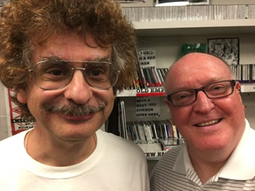 With Marvin Rosen at WPRB in Princeton following my interview on Classical Discoveries on August 17, 2016