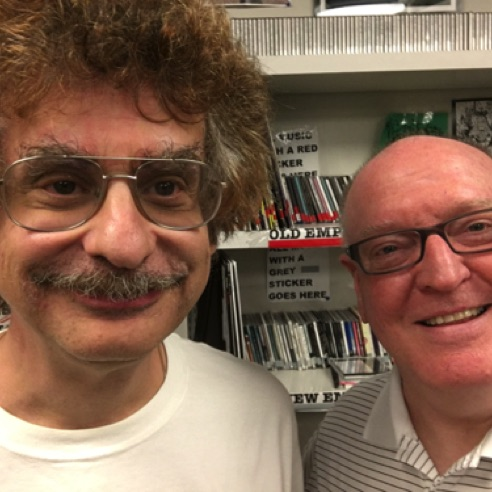 With Marvin Rosen at WPRB in Princeton following my interview on Classical Discoveries  (August 17, 2016)
