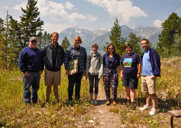 The composer fellows of the 2017 Wyoming Festival: New Music in the Mountains at Grand Teton National Park August 2017