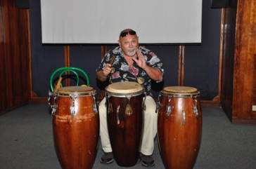 Cuban percussion masterclass led by Jose Eladio Amat in Havana, Cuba November 2015.